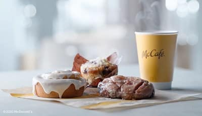 McDonald's Sweetens Up Breakfast with New Nationwide McCafé® Bakery Lineup