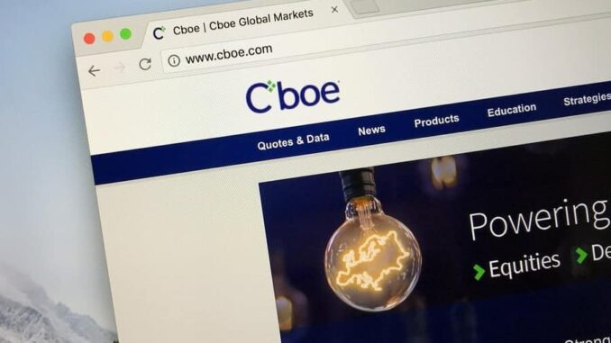 Cboe Global Markets Plans to Reopen Chicago Trading Floor on Monday, June 8, 2020