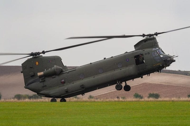 Boeing Completes Helicopter Deliveries to the Indian Air Force