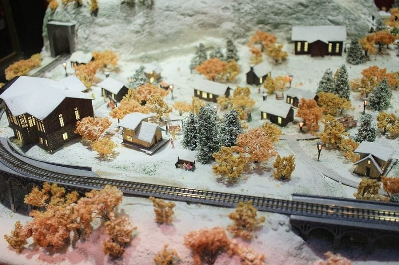 Time to Grab That Model Train To Go Around Your Christmas Tree