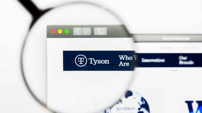 Tyson Foods Reports Second Quarter 2020 Results