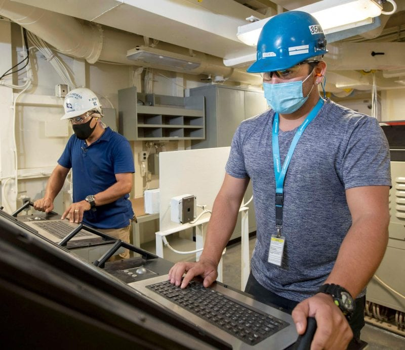 Ingalls Shipbuilding Achieves Electronic Systems Light-Off for Fort Lauderdale (LPD 28)