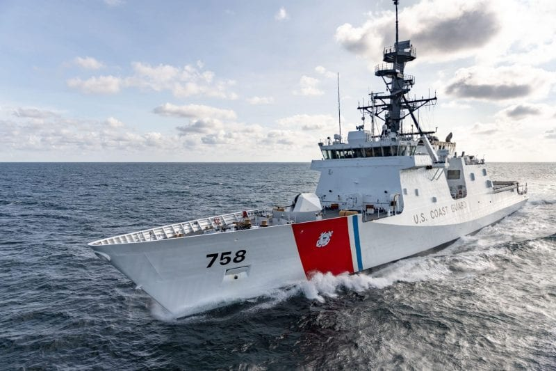 Ingalls Shipbuilding Successfully Completes Builder's Trials for Stone (WMSL 758)