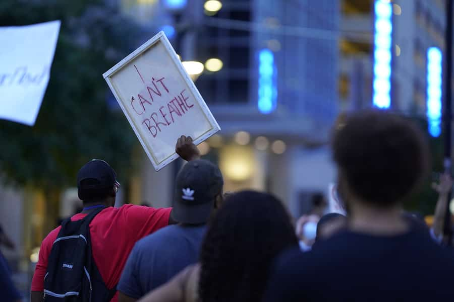 Portland: Mass Gathering Blocks Streets Outside Penumbra Kelly Building for Hours