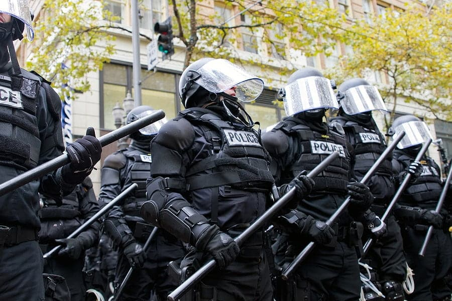 Portland OR, Fires and Criminal Activity outside the Federal Courthouse