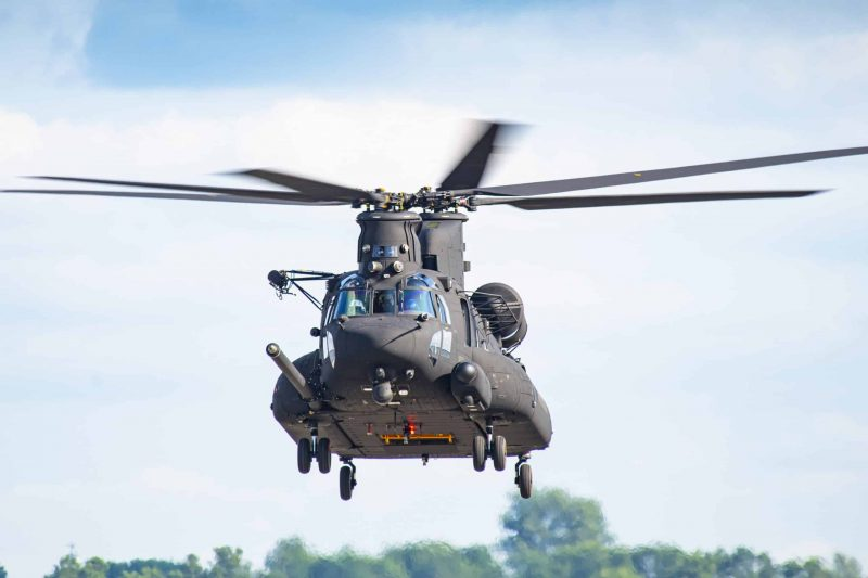 Boeing Delivers SOCOM's First Next-Gen Chinook Helicopter
