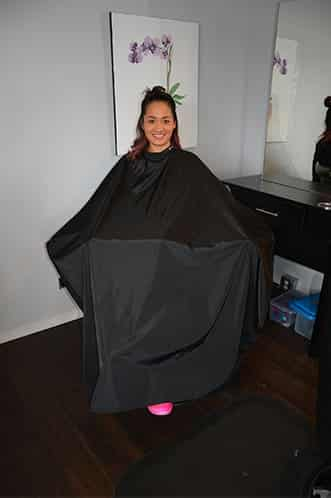Reusable Nylon Capes vs Wasteful and Expensive Disposable Capes