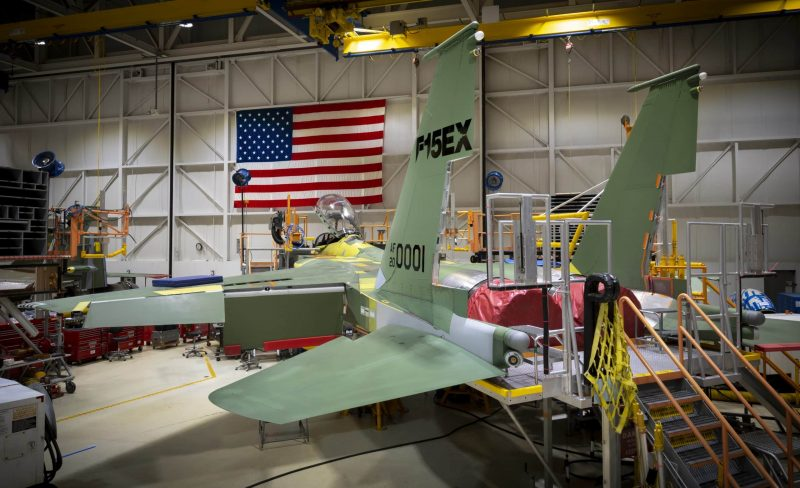 US Air Force, DAF awards contract for first lot of F-15EX fighter aircraft