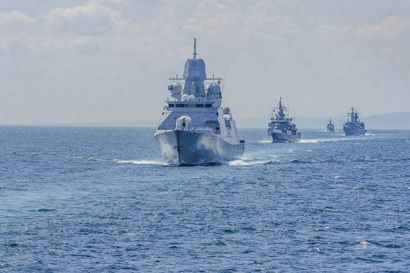 Russia deploy 9 spy ships to British waters
