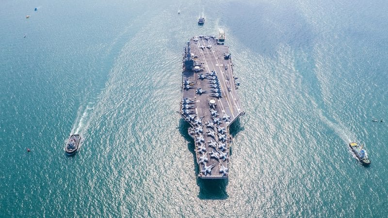 US Navy Aircraft Carriers Enter South China Sea Amid Tensions